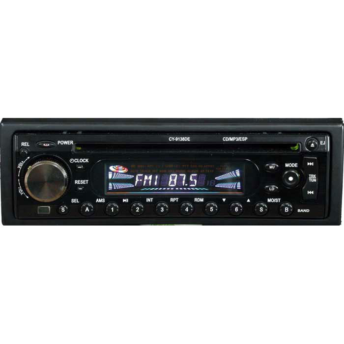 Car CD Player 9138DE